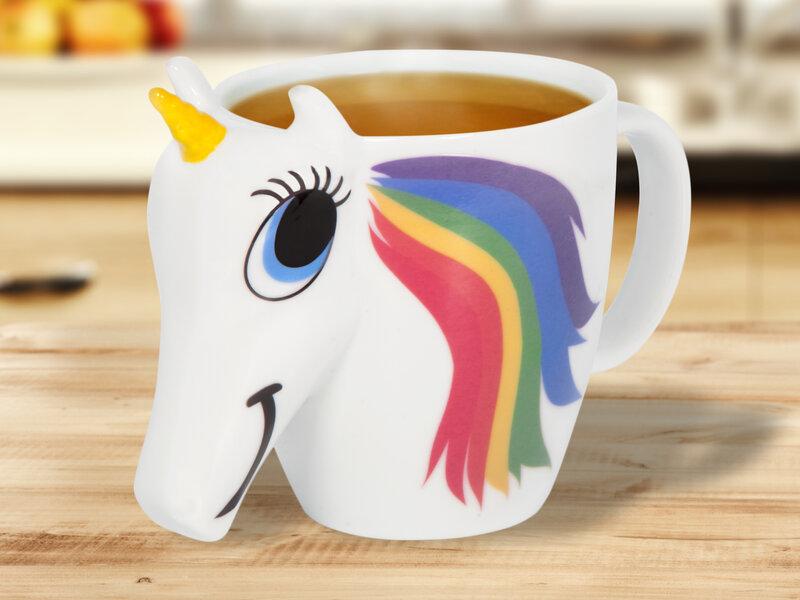 Farveskiftende Unicorn-Krus thumbnail