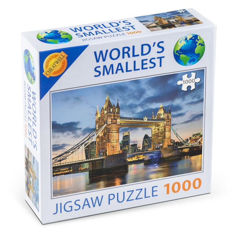 Verdens mindste puslespil med 1000 brikker Tower B thumbnail
