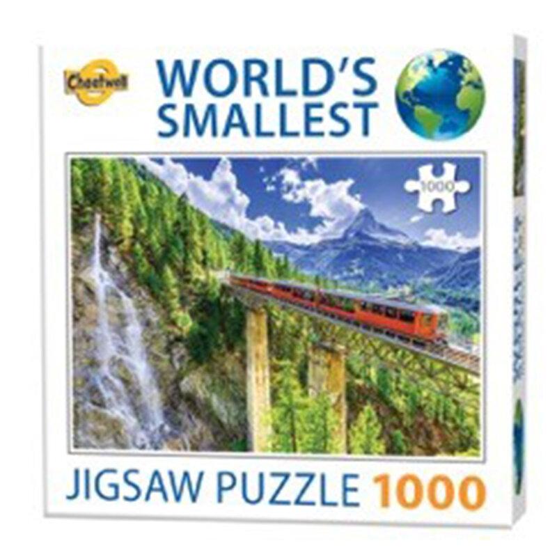 Verdens mindste puslespil med 1000 brikker Matterh thumbnail