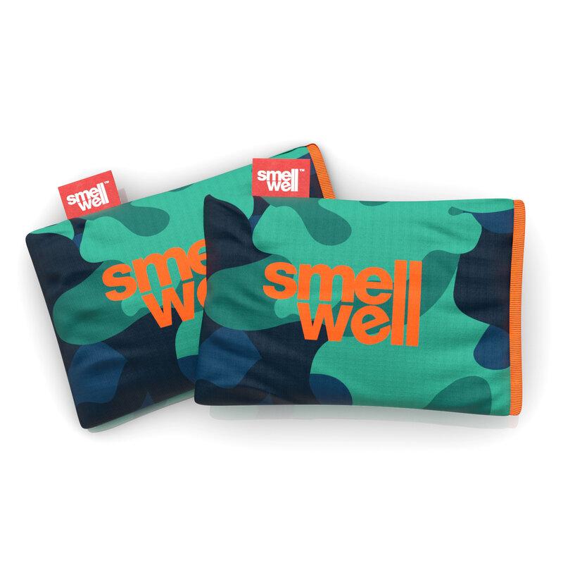 SmellWell lugtdræber Camo Green 2-pak thumbnail