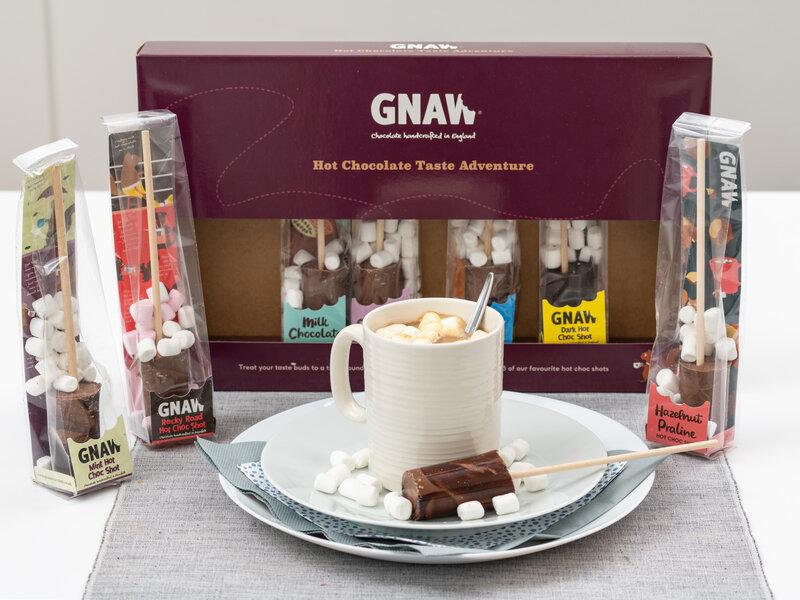Gnaw Varm Chokolade Smagseventyr 8-pak thumbnail