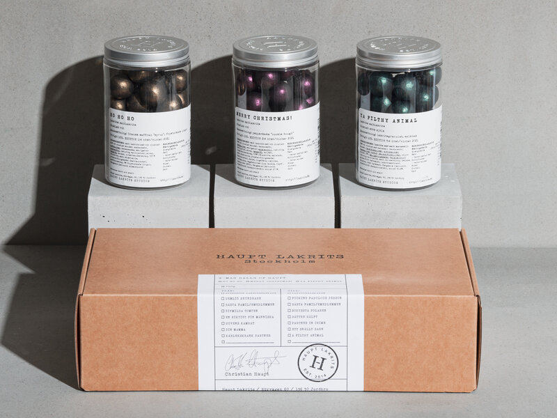 Haupt Lakrids Gaveæske – X-mas Balls of Haupt