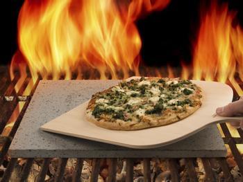 Pizzasten Af Lava Fra Etna