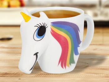 Farveskiftende Unicorn-Krus