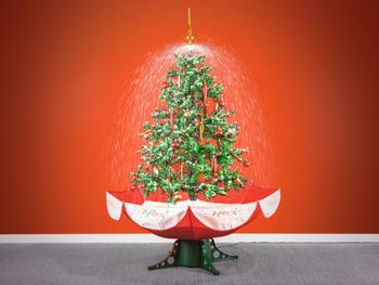 Sneende Juletræ