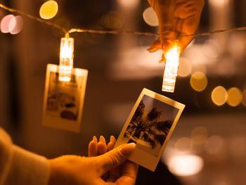LED-Lysbånd med Fotoklemmer