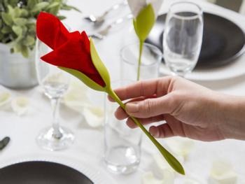 Bloom Servietholder 4-stykspakke