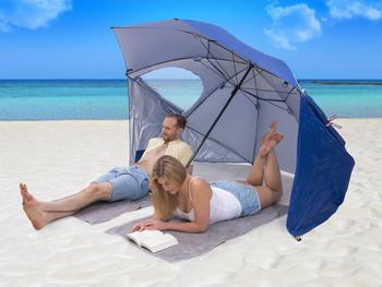 Utenu UV-parasol med Vindbeskyttelse