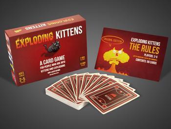 Exploding Kittens Kortspil
