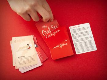 The Oral Sex Card Game