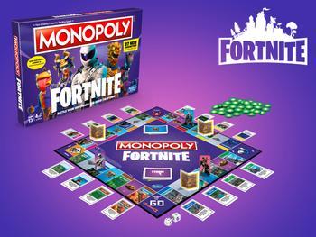 Fortnite Monopoly Spil