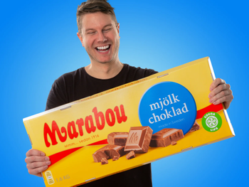 Gigantisk Chokolade Marabou