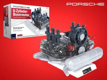 Porsche 6-cylindret Boxermotor Byggesæt