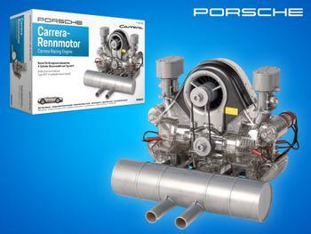 Porsche 4-cylindret Carreramotor Byggesæt