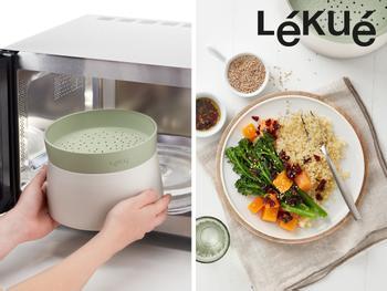 Quinoa- & Riskoger til Microen - Lékué