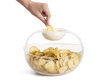 KitchPro Chips- og Dipskål