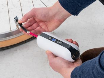 Vooni® Luftpumpe med Trykmåler