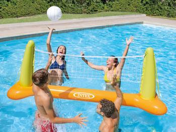 Intex Oppusteligt Volleyballsæt