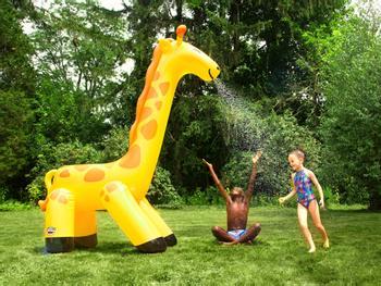 Vandspreder Gigantisk Oppustelig Giraf