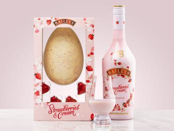 Baileys Strawberries & Cream Chokoladeæg