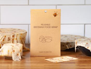 Beeswax Food Wrap Bivoks Papir 5-pak