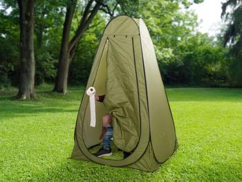 Outlust Pop-op-telt med Campingtoilet
