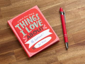 Things I Love About You Udfyld-selv-bog