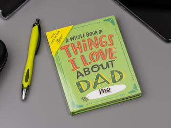 Things I Love About Dad Lav-selv-bog