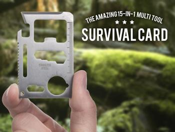 Outlust Survival Card - Multiværktøj