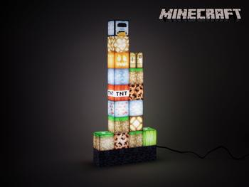 Minecraft Block Building Lampe