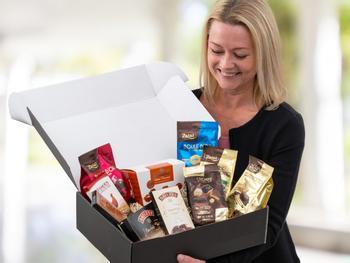 Gaveæske til chokoladeelskeren