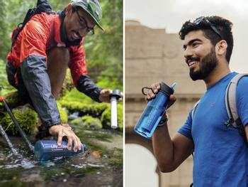 LifeStraw Go Flaske med Vandrensning