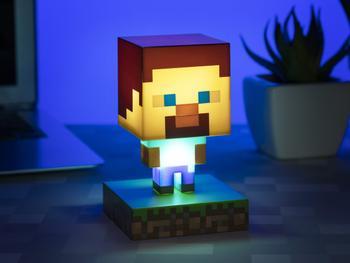 Minecraft Lampe Steve