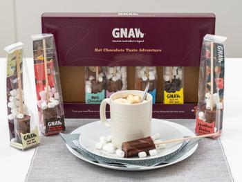 Gnaw Varm Chokolade Smagseventyr 8-pak