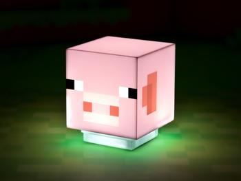 Minecraft Pig Lampe