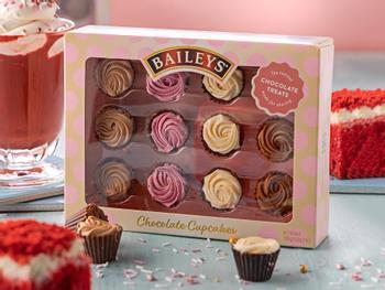 Baileys Cupcakes Chokoladeæske