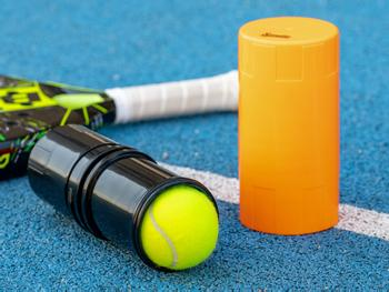 Spralla® Trykbeholder til Padel- og Tennisbolde
