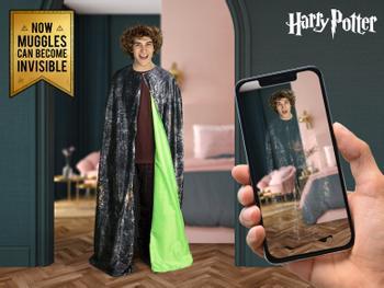 Harry Potter Usynlighedskappe