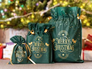 Gaveposer med Julemotiv 3-pak