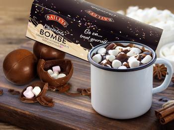 Baileys Chokoladebomber til Varm Chokolade 3-pak