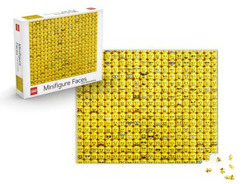 Lego Minifigure Faces Puslespil 1000 brikker