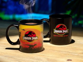 Jurassic Park Farveskiftende Krus