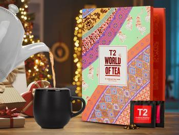 T2 World of Tea: Tejulekalender med Løs Te