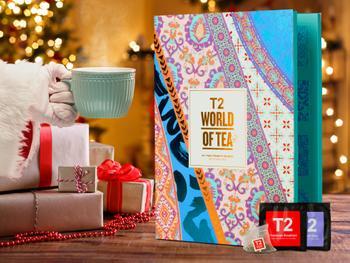 T2 World of Tea: Tejulekalender med Teposer