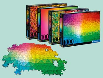 Clementoni Colorboom 1000-brikkers Puslespil