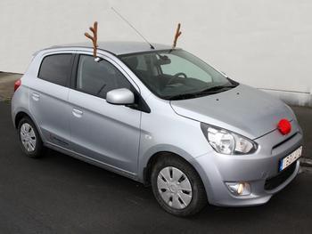 Rudolfkostume til bil